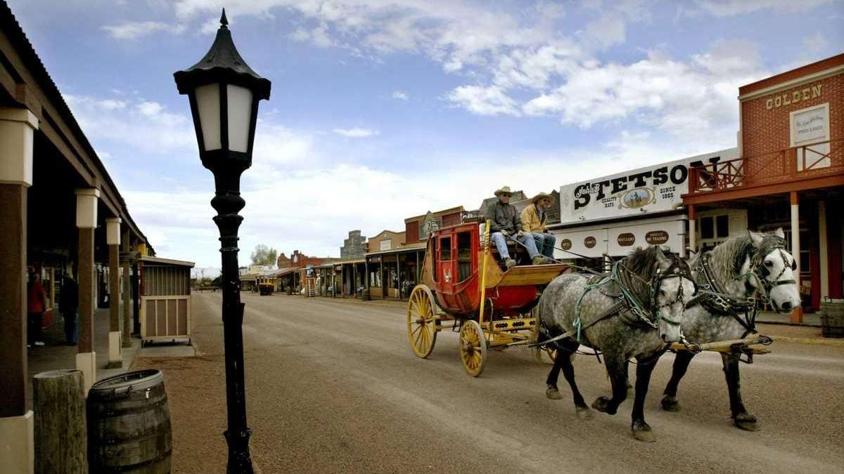 Wild west towns a travel guide newsday - Downtown at the gardens movie times ...