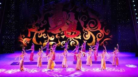 Cirque Mei combines traditional arts like dance with