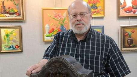 Michael Katz, 60, of Seaford, collects antique radios