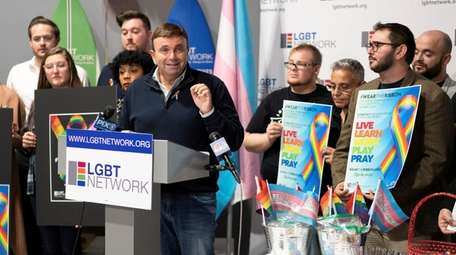 David Kilmnick, president and CEO of the LGBT