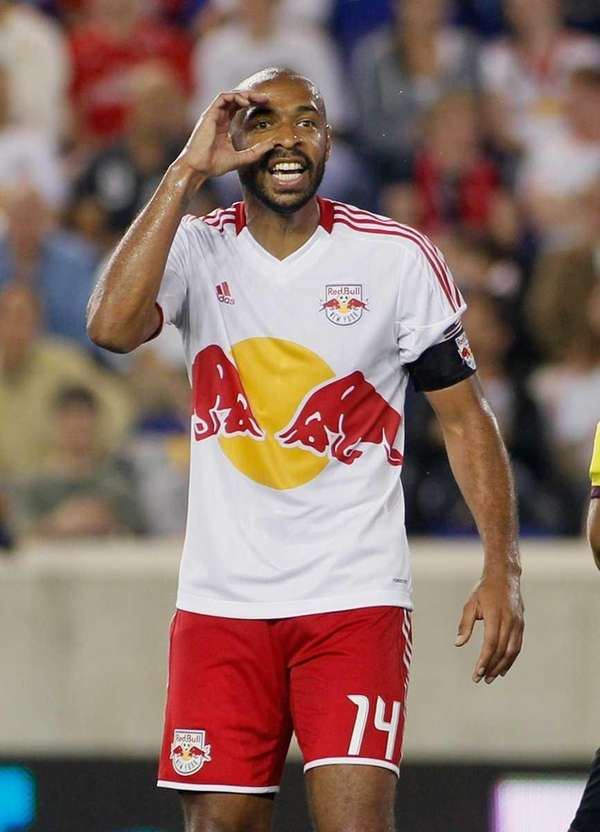 Thierry Henry of the New York Red Bulls