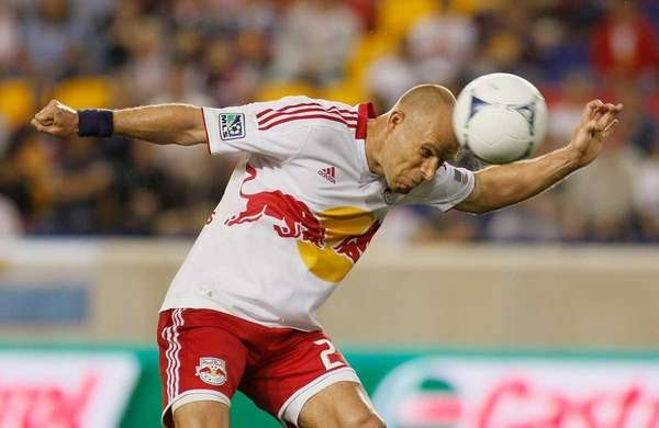 Joel Lindpere of the New York Red Bulls