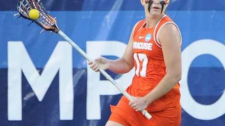 Syracuse midfielder Sarah Holden scored the game winning