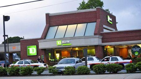 The TD Bank on Hempstead Turnpike in Franklin
