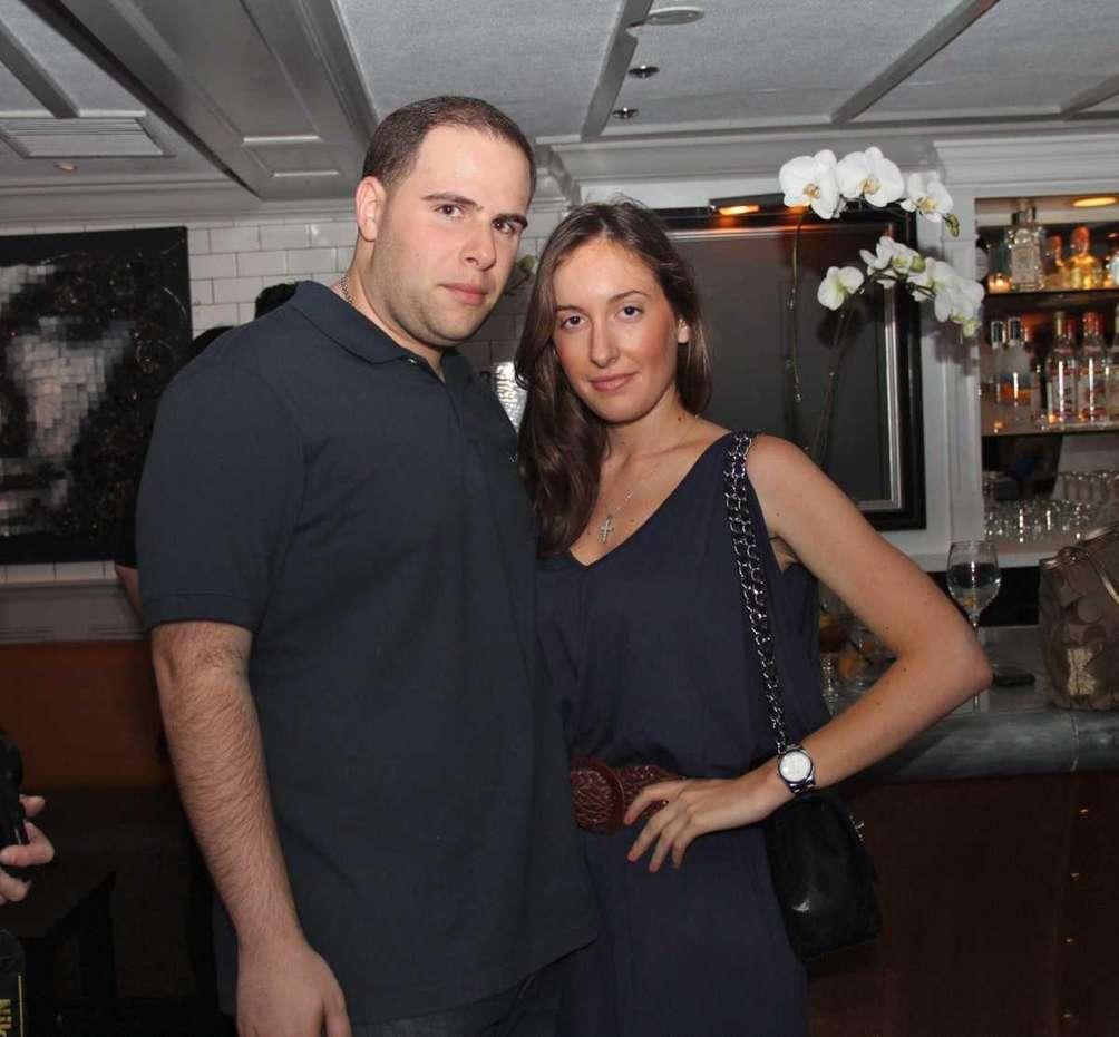 Vinny Snapple and Gabrielle Dilello attend the opening