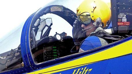 Lt. John Hiltz of the U.S. Navy Blue