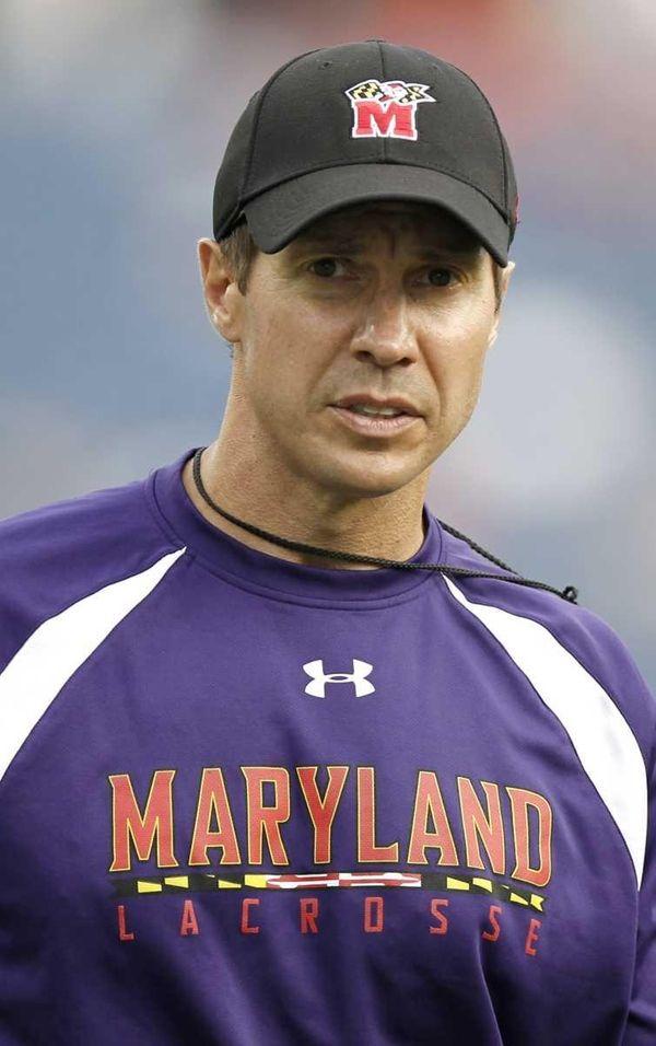 John Tillman, head coach of the Maryland Terripans,