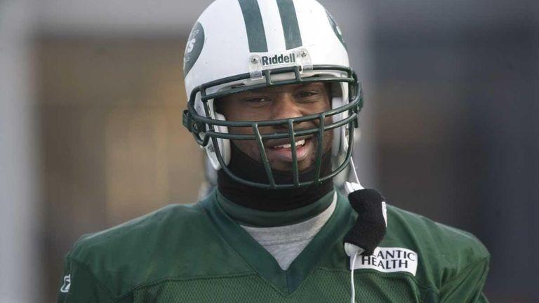 Jets linebacker Bart Scott during practice. (Jan. 11,