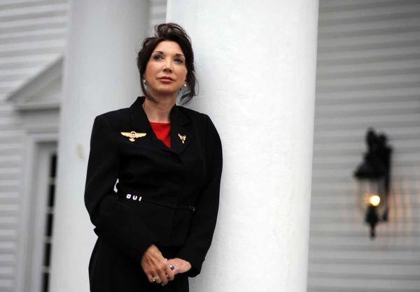 Sandy Dahl, widow of Jason Dahl, captain of