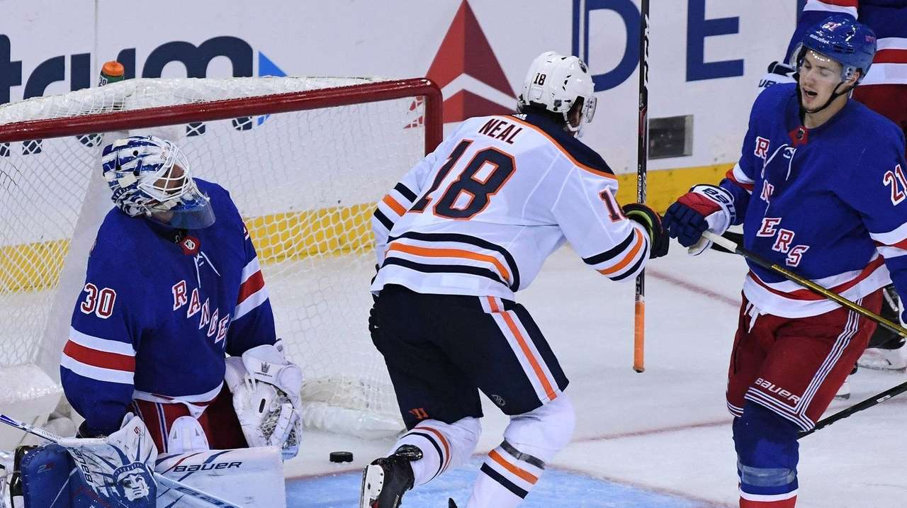 Rangers won't blame long layoff for loss to Oilers
