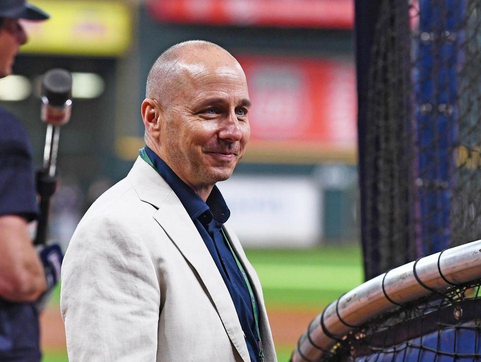 New York Yankees General Manager Brian Cashman before