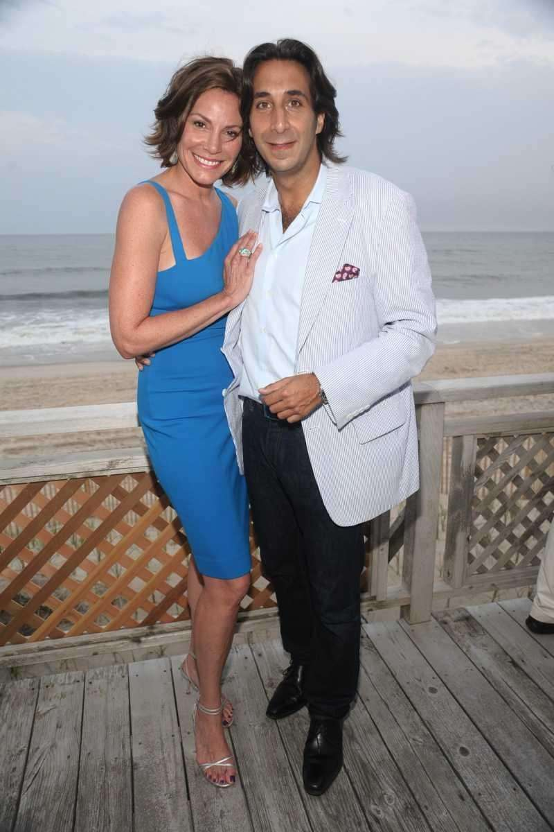 Countess Luann de Lesseps and Jacques Azouley attend
