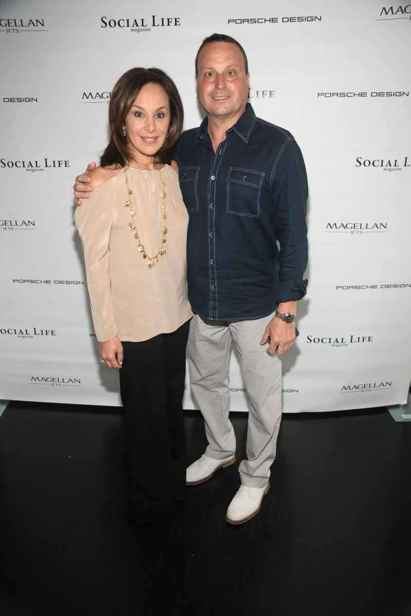 Rosanna Scotto and Lou Ruggiero attend the Social