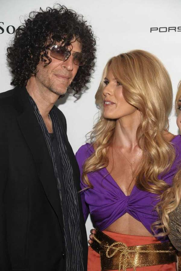 Howard Stern and Beth Ostrosky Stern attend the