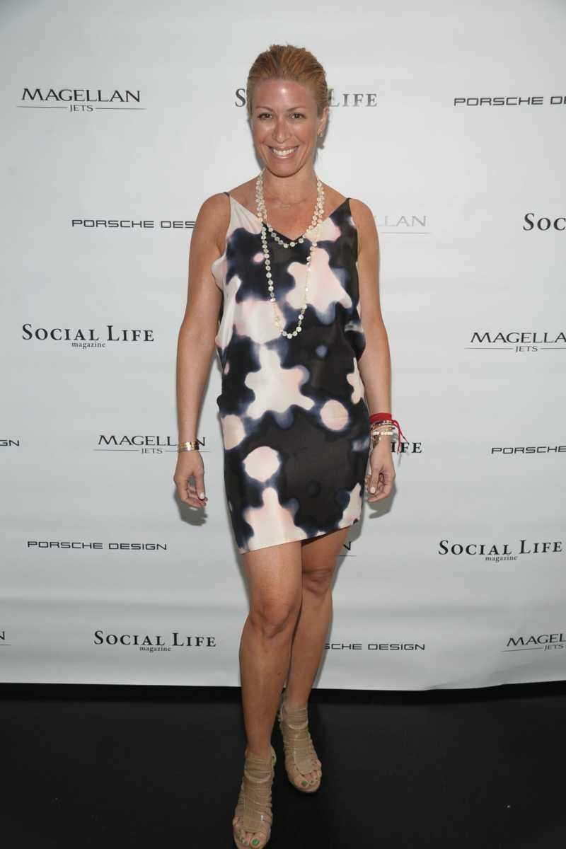 Jill Martin attends the Social Life Magazine Cover