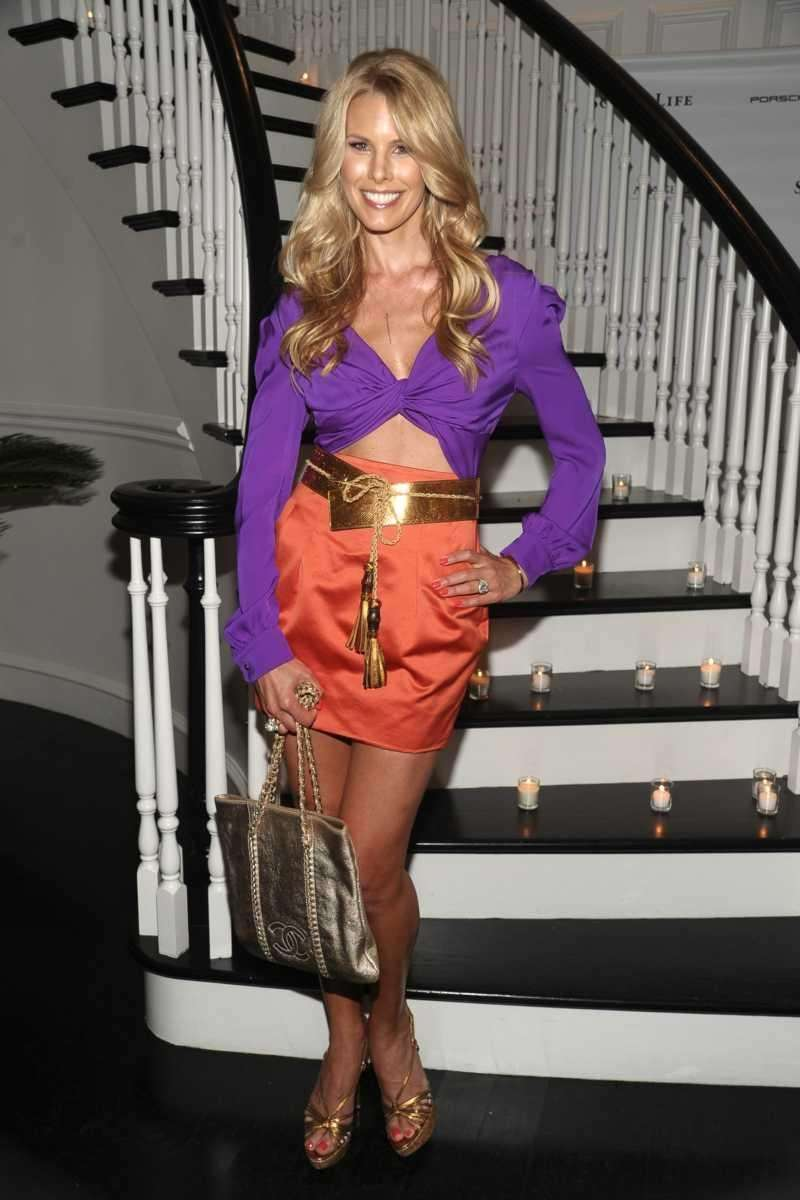 Beth Ostrosky Stern poses at the Social Life