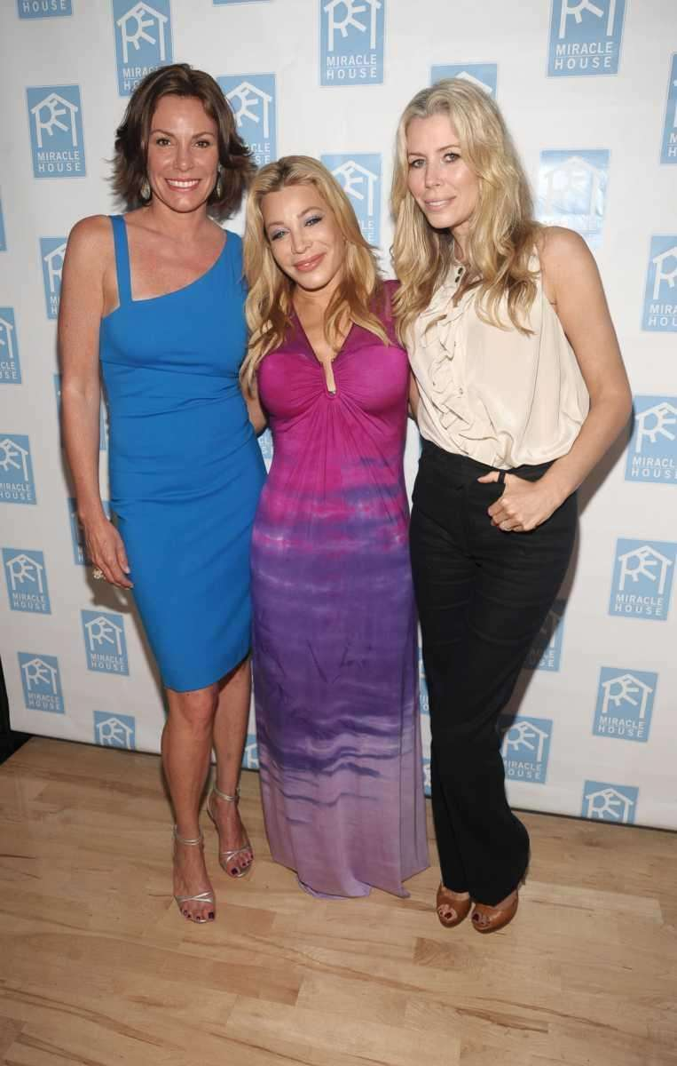 Countess Luann de Lesseps, Taylor Dayne, and Aviva