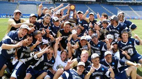 The Dowling College Golden Lions Men's Lacrosse Team