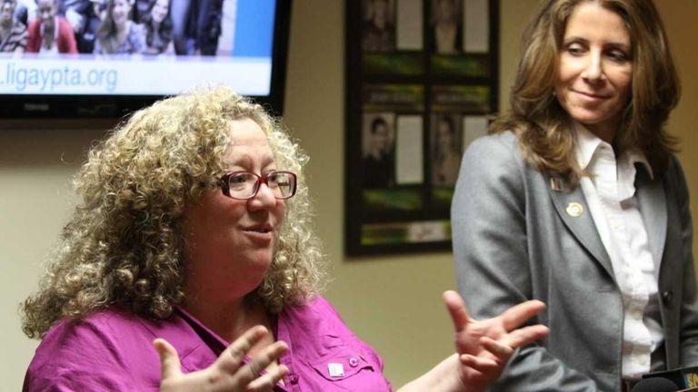 Long Island Gay Parent Teacher Student Association Co-Presidents