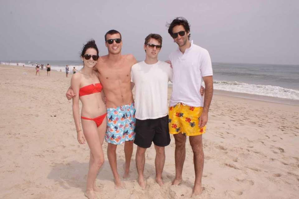 Carmen, Dixon, Guillaume and Alessandro of Manhattan NY