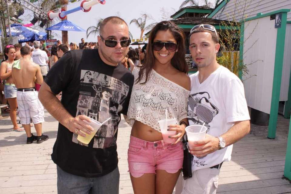 Steve, Carolina and Anthony at Neptune Beach Club,