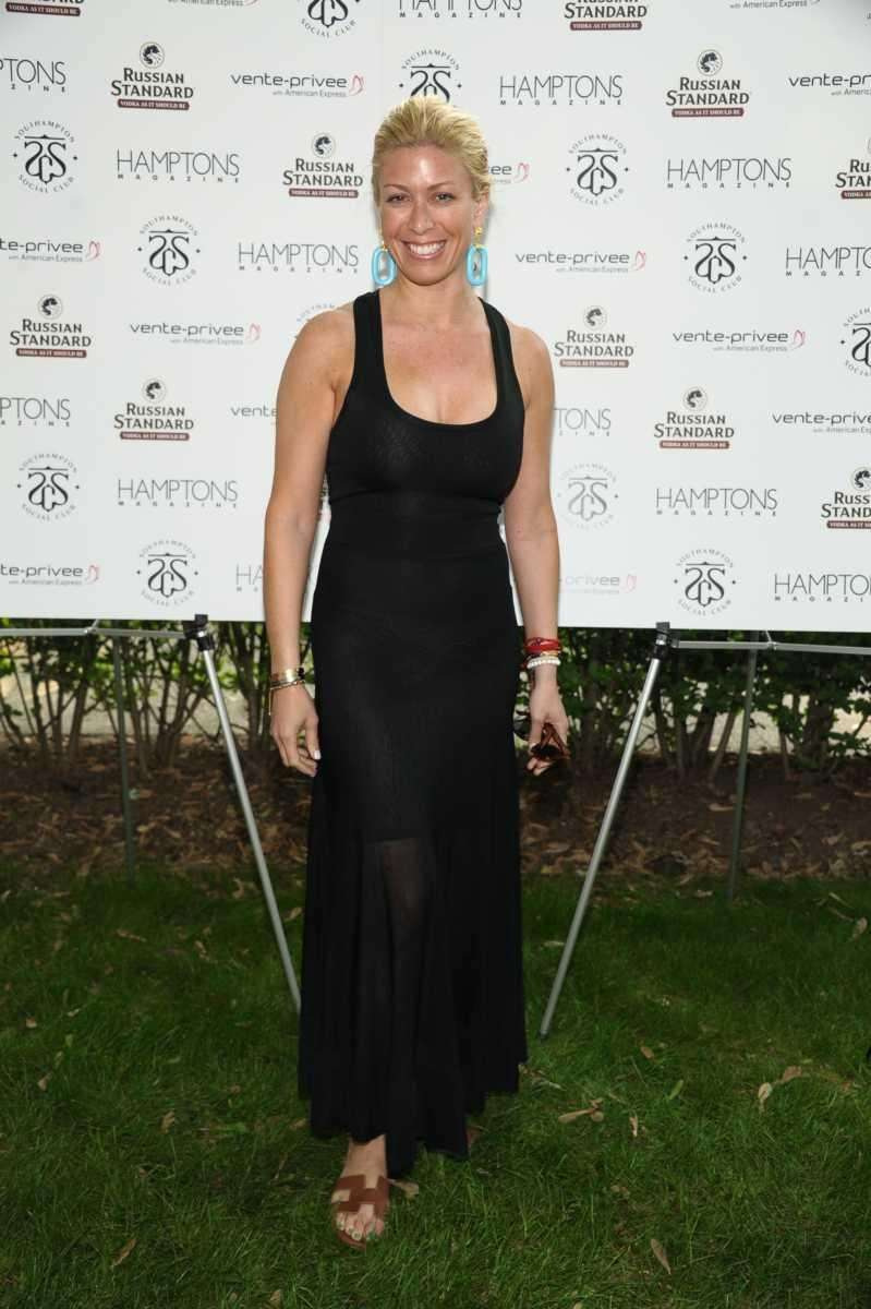 Jill Martin attends Hamptons Magazine celebrates Matt Lauer