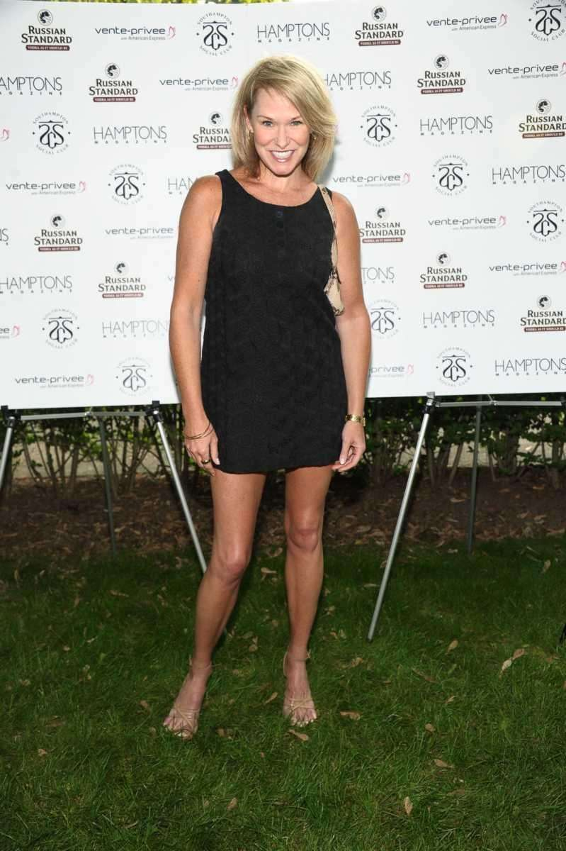 Libby Langdon attends Hamptons Magazine celebrates Matt Lauer