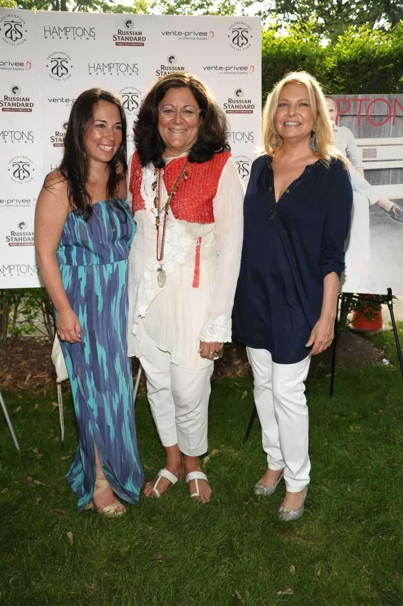 Samantha Yanks, Fern Mallis, and Debra Halpert attend