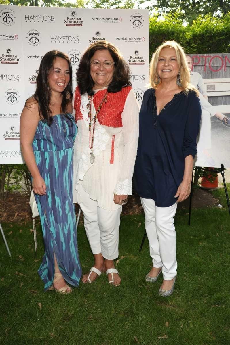 Samantha Yanks, Fern Mallis, and Debra Halpert attend