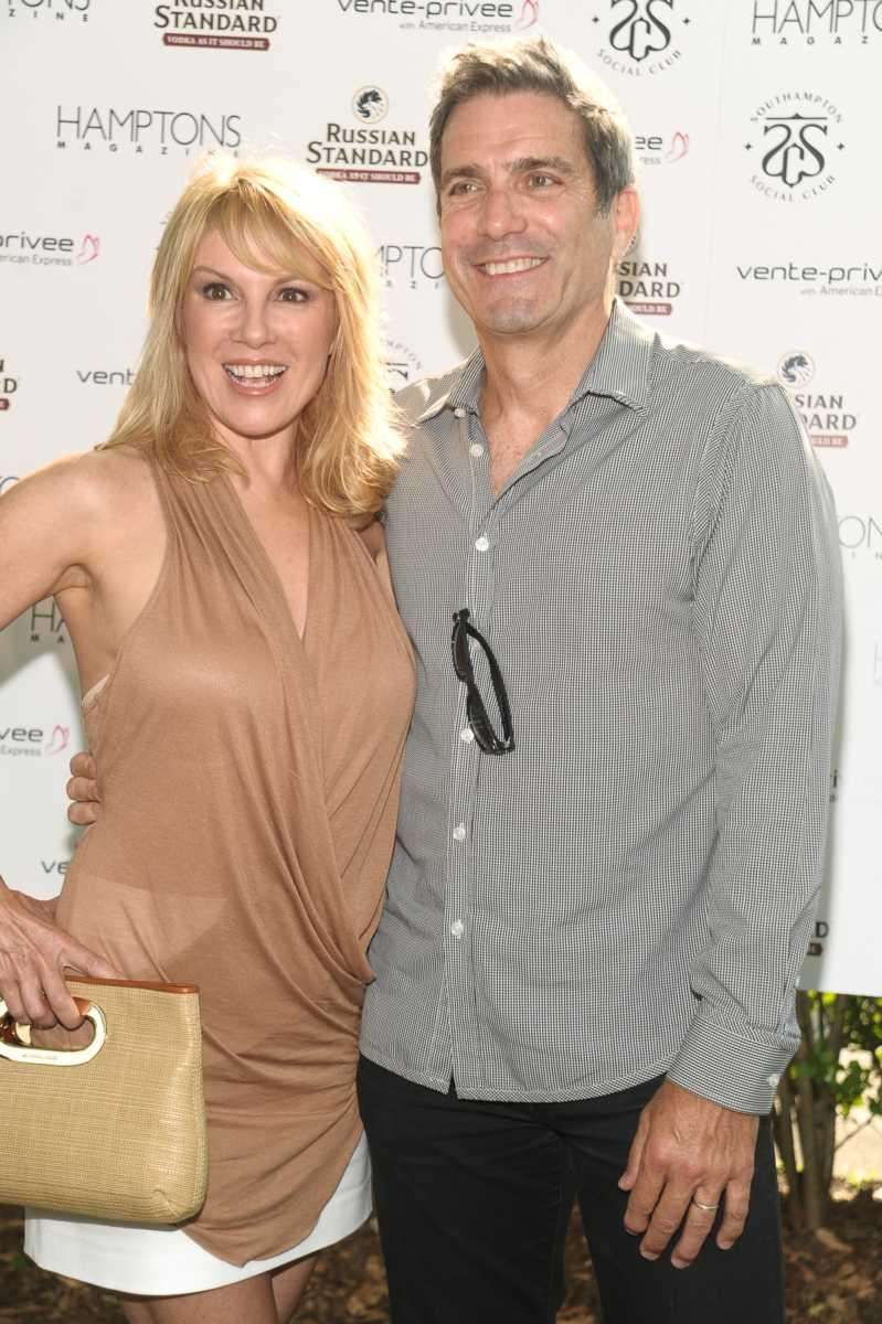 Ramona Singer and Mario Singer attend Hamptons Magazine