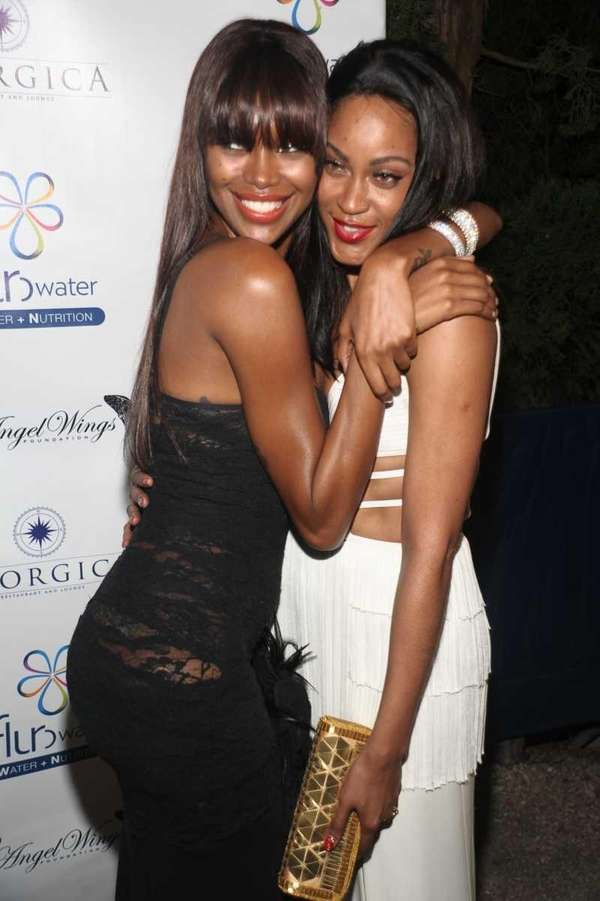 Jessica White and Shontelle attend Jessica White's
