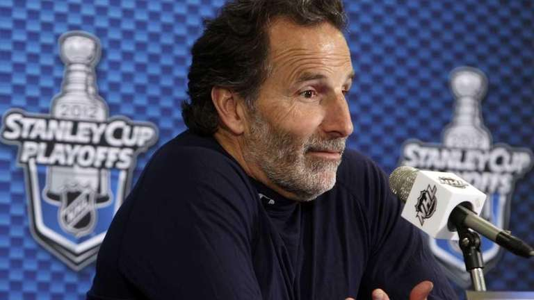 New York Rangers head coach John Tortorella at