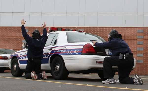 New Suffolk Police Cadets Learn The Drill Newsday