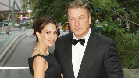 Hilaria and Alec Baldwin arrive at Manhattan's Lincoln