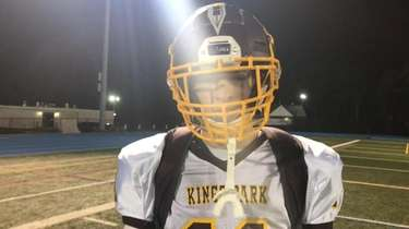 Kings Park quarterback Mike Ingraffia discussed the team's momentum