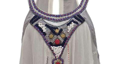 Saivana, a line of fluttery silk tops, tunics