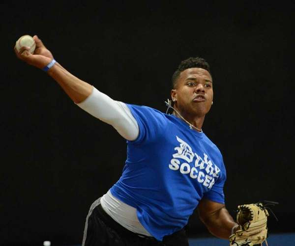 Duke righthander Marcus Stroman, the 2008 Yastrzemski Award