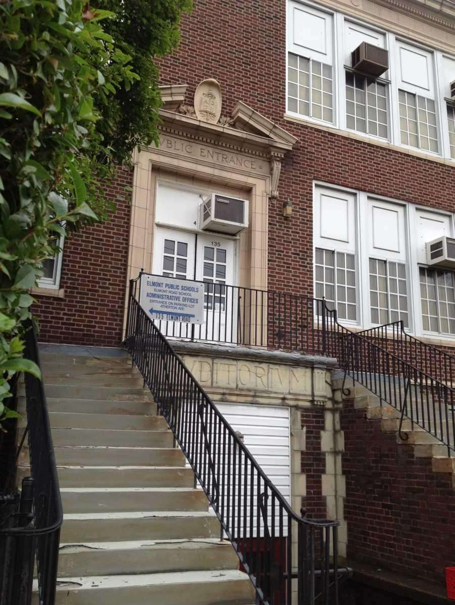 The Elmont Union Free School District main building