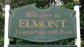 Elmont, located in the Town of Hempstead, was