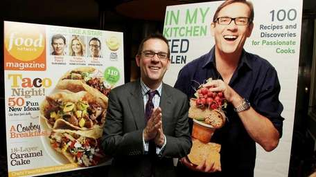 Ted Allen at a launch party for his