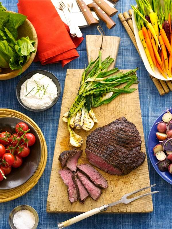 meals she mastered was London Broil with Creamy Horseradish Sauce ...