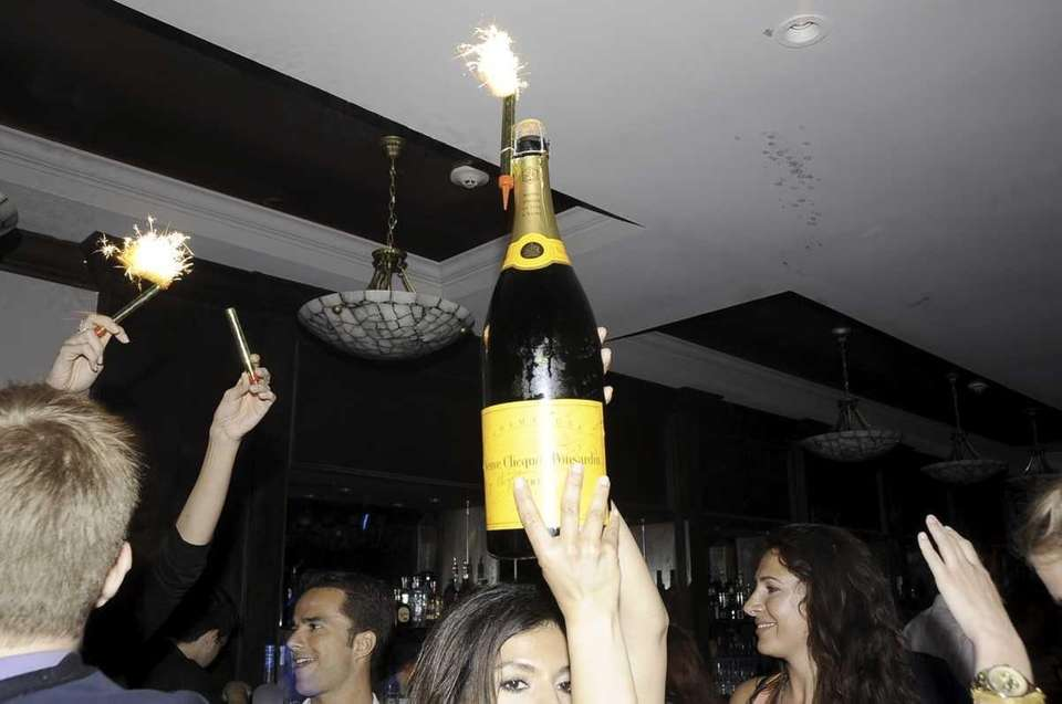 The champagne flowed as Memorial Day weekend gets
