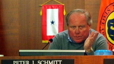 Nassau Legis. Peter Schmitt. (Oct. 30, 2011)