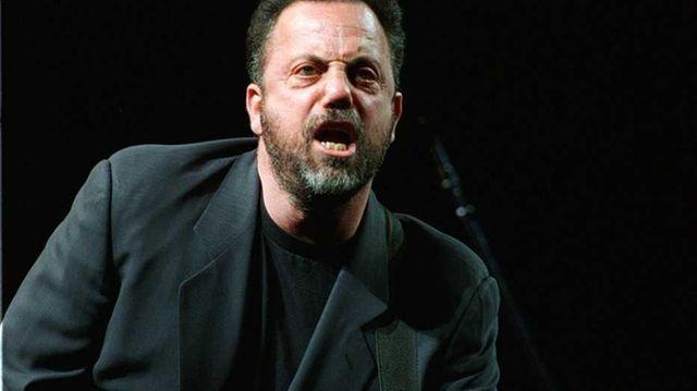 Billy Joel in concert at the Nassau Veterans