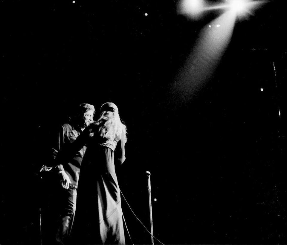 Johnny Cash performed at the Nassau Veterans Memorial