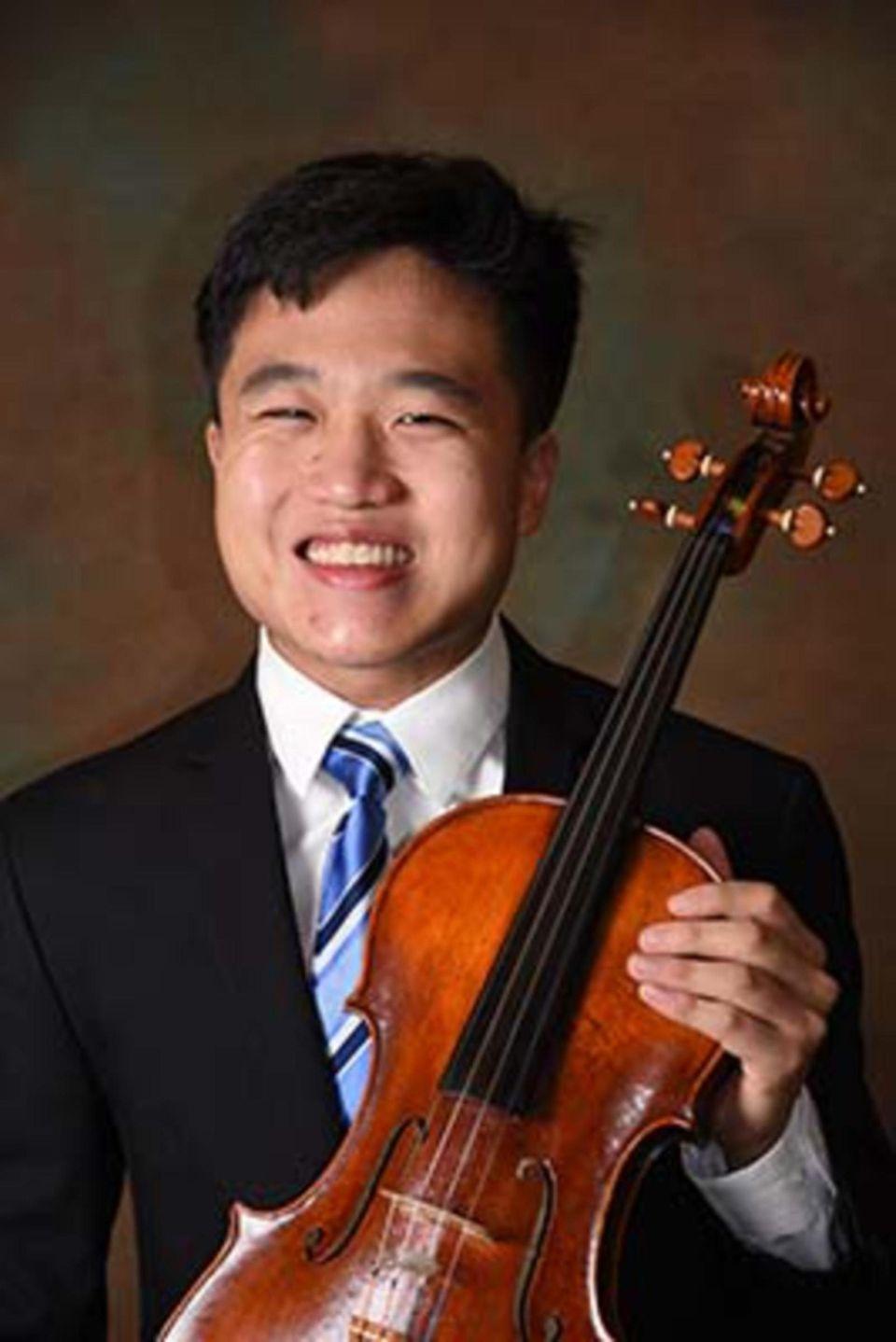 The versatility of Joshua Cai's music skills extends