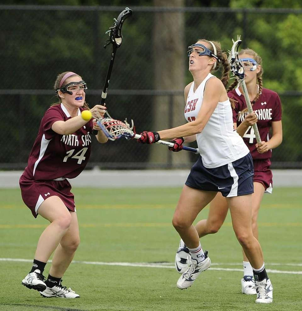 Cold Spring Harbor's Kelly Anne Sherlock shoots and