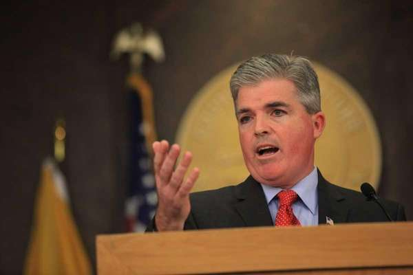 Suffolk County Executive Steve Bellone (April 18, 2012)