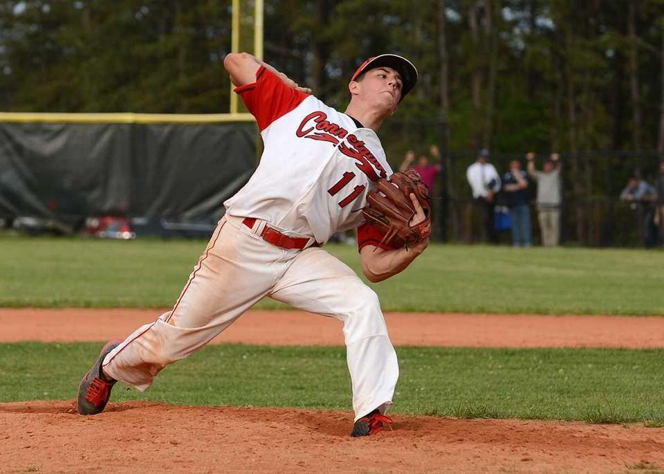 Connetquot's Brian McKean pitched six innings during the
