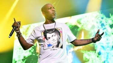DMX performs during the Masters of Ceremony concert